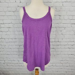 Chaser Strappy Back Cami Top Purple M